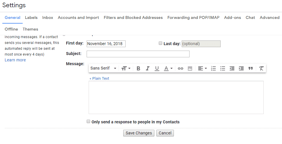 High Priority Gmail Notification