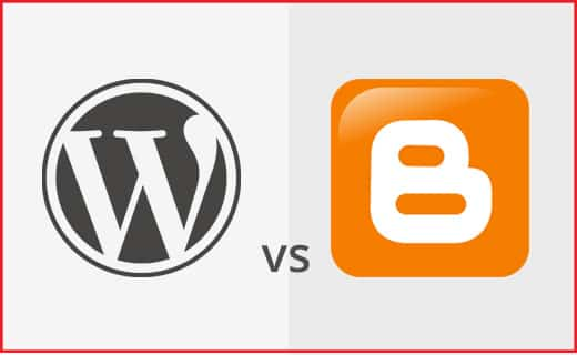 WordPress vs Blogger wordpress vs blogger WordPress vs Blogger best platform to start e commerce blog 1 1