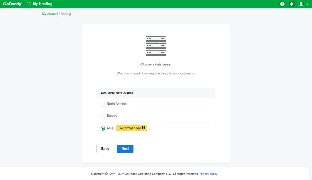 WordPress Installation wordpress installation Godaddy Hosting Account pe WordPress kaise Install kare screencapture myh godaddy 2019 01 27 14 59 39 1024x592
