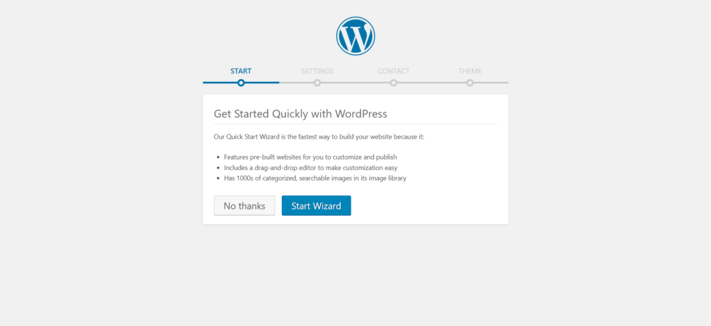 WordPress Installation