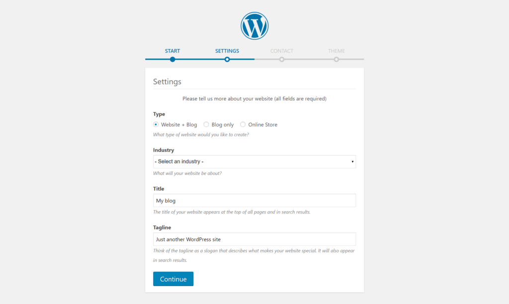 WordPress Installation wordpress installation Godaddy Hosting Account pe WordPress kaise Install kare screencapture wpseekho wp admin 2019 01 27 15 11 25 1024x612