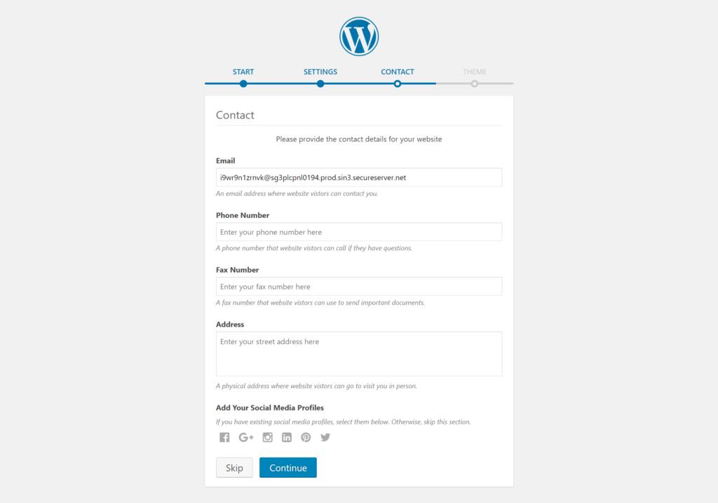 WordPress Installation wordpress installation Godaddy Hosting Account pe WordPress kaise Install kare screencapture wpseekho wp admin 2019 01 27 15 11 47 1024x718