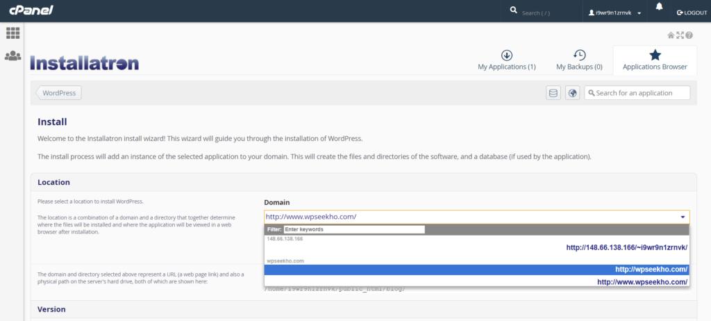 WordPress Installation wordpress installation Godaddy Hosting Account pe WordPress kaise Install kare tempsnip 5 1024x462