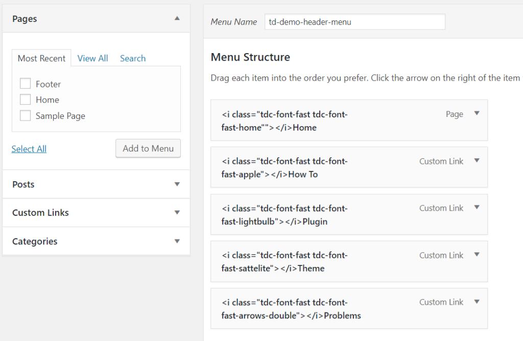 create menu in wordpress WordPress me Navigation Menu kaise add kare Capture 54 1024x668