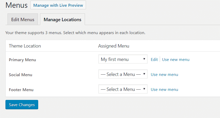 create menu in wordpress WordPress me Navigation Menu kaise add kare Capture 55