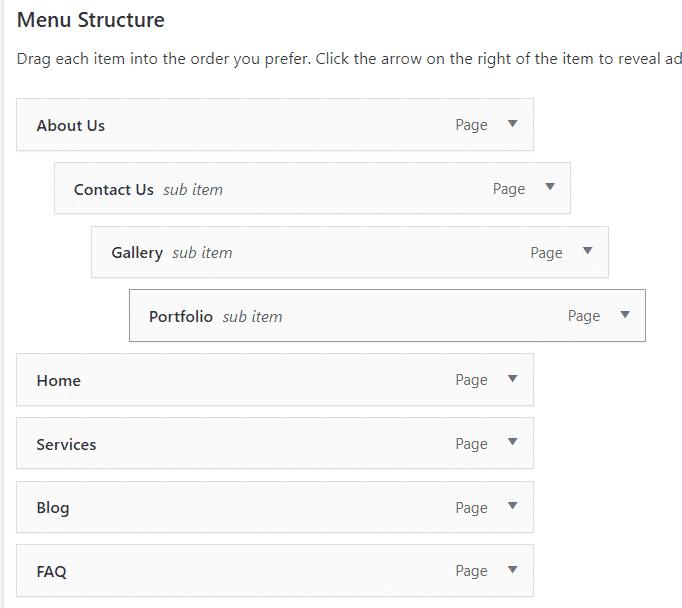 create menu in wordpress WordPress me Navigation Menu kaise add kare Capture 58