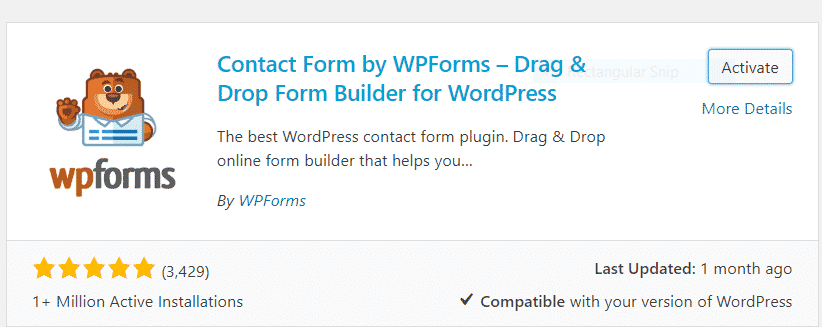 Create contact form create contact form WordPress me Contact form kaise create kare Capture 6