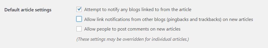 disable wordpress comments Wordpress post comment ko disable kaise kare Capture 95