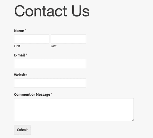 Create contact form create contact form WordPress me Contact form kaise create kare contactformpreview