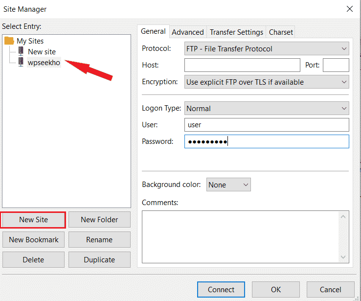 how to use FTP to upload files