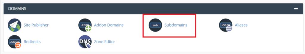 create sub-domain Apne blog ya website ke liye Sub-domain kaise banaye tempsnip 59 1024x183