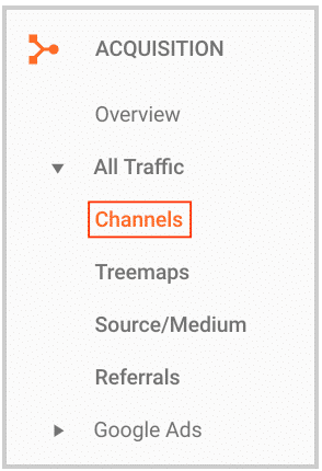 channel category