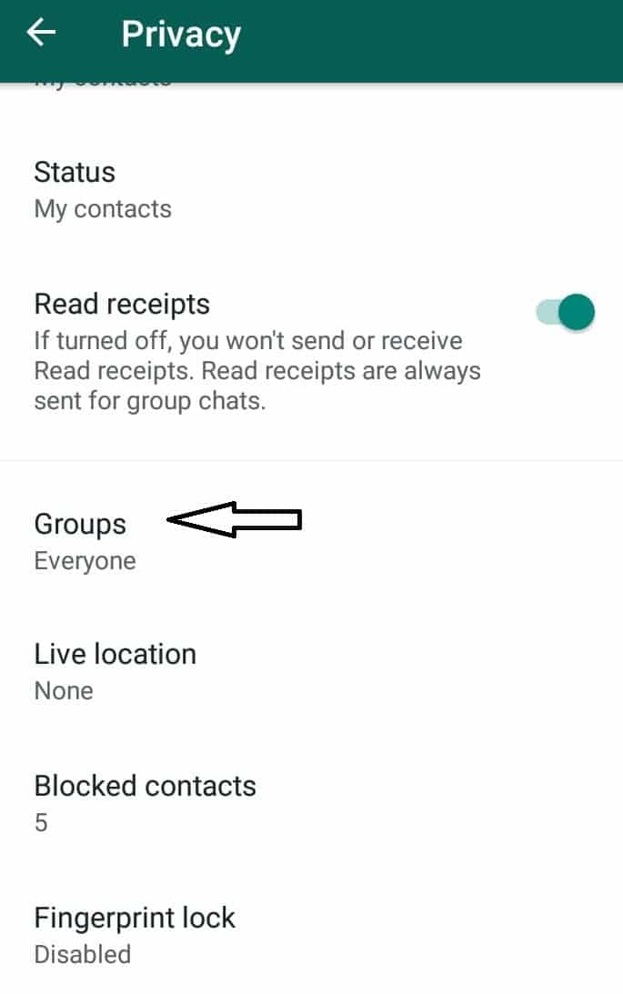 Stop Someone From Adding to WhatsApp Groups