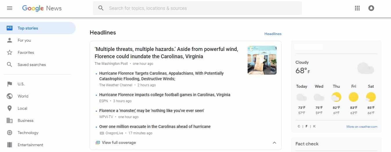 News Site Optimization