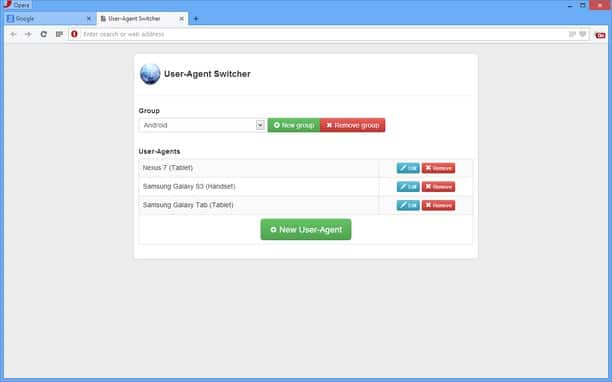 essential SEO browser extensions: use agent switcher