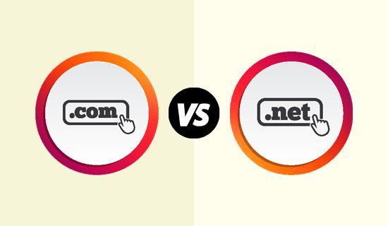.com vs .net domain extensions