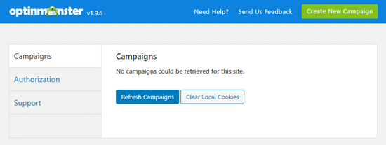 optinmonster refresh campaigns