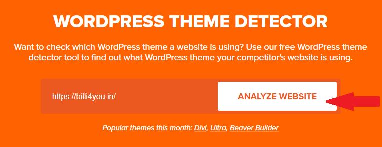 theme detector tool