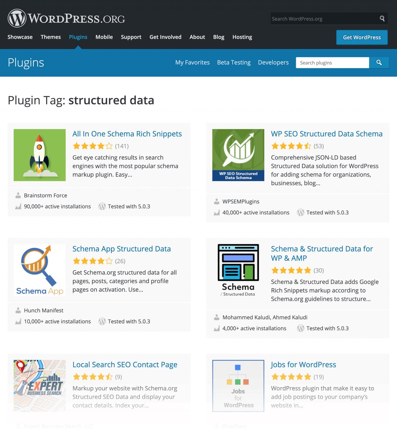 wordpress structured data plugins
